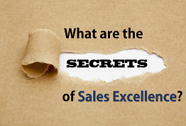 What are the secrets of Sales Excellence?